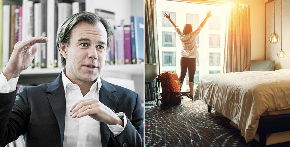 Karl-Johan Persson knuffar in fler miljoner i hotelluppstickaren Dib