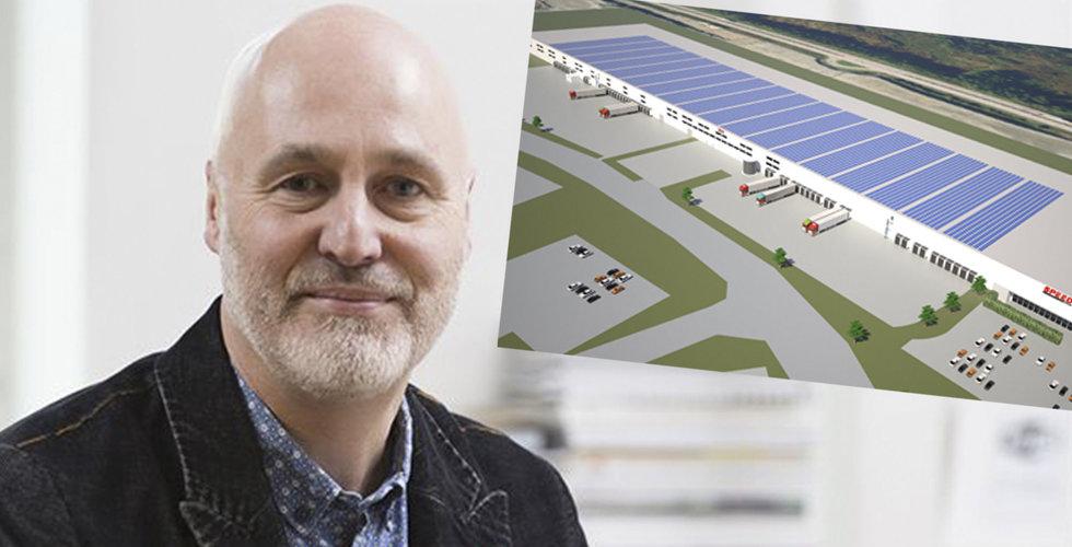 Speed Group bygger Nordens största solcellstak i Borås