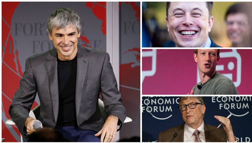 Ny lista - så mycket pengar har världens rikaste techmiljardärer