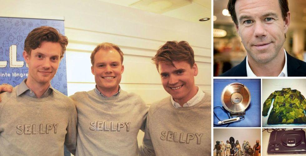 Klädjätten H&M och tunga entreprenörer investerar i Sellpy