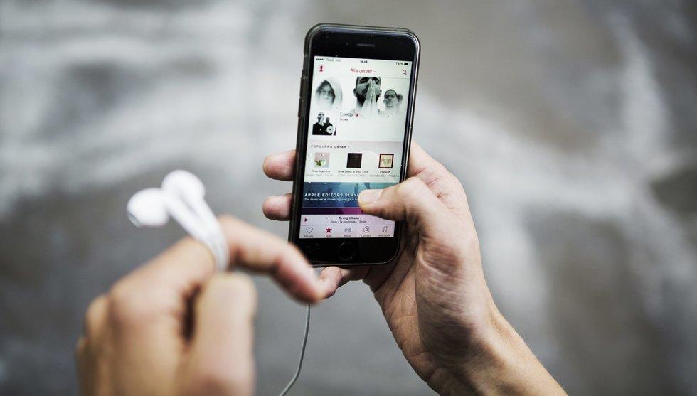 Breakit - 1 av 10 Ios-användare lyssnar på Spotify-konkurrenten Apple Music
