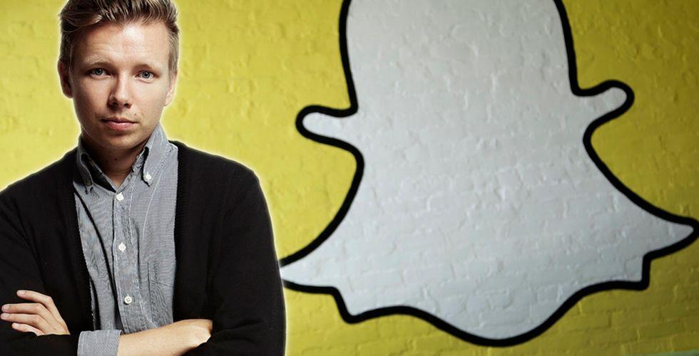 Emanuel Karlsten: Därför måste företagen förstå sig på Snapchat