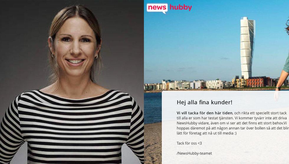 Newshubby i konkurs - Alexandra Bylund satsar på ny verksamhet
