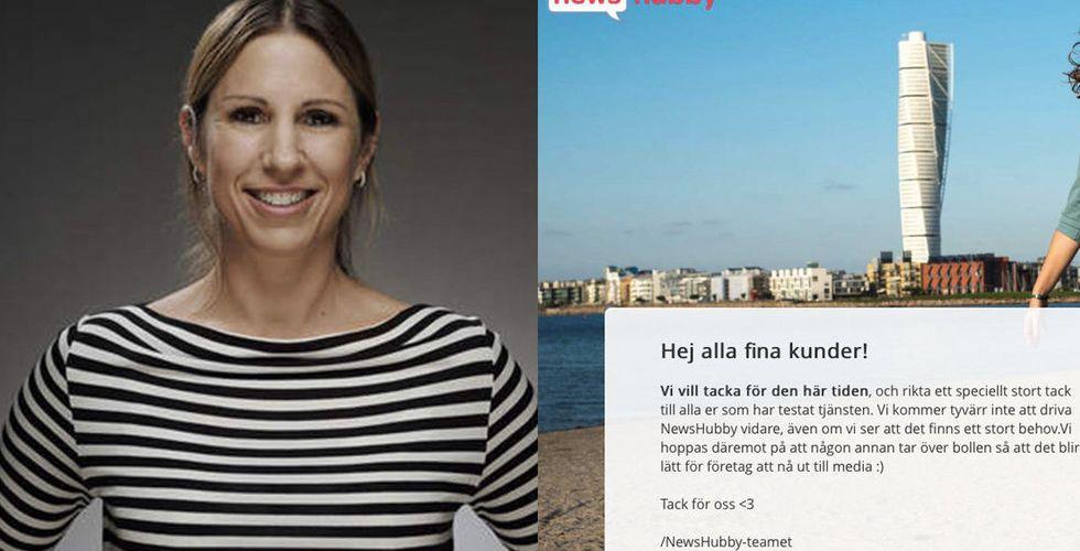 Breakit - Newshubby i konkurs - Alexandra Bylund satsar på ny verksamhet