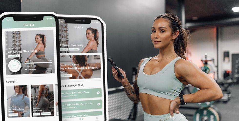 Hanna Öberg har 2 miljoner följare på Instagram – nu ska hon utmana träningsjättarna