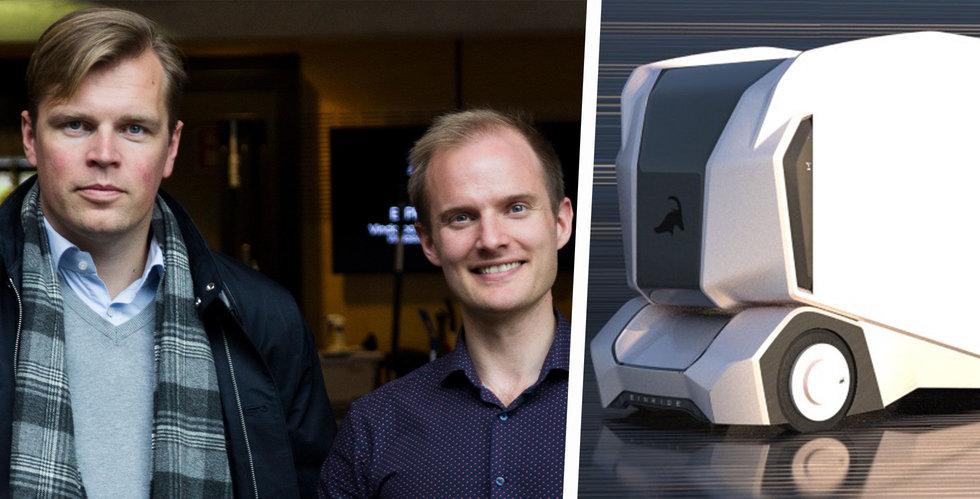 Einride ska göra transporter tio gånger billigare – med självkörande bilar