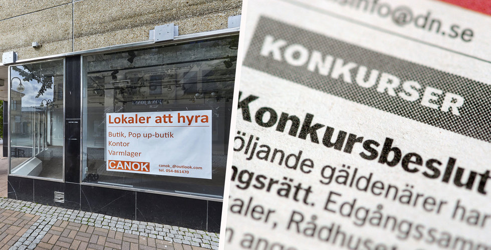 Svenska konkurser är 39 procent lägre än september ifjol