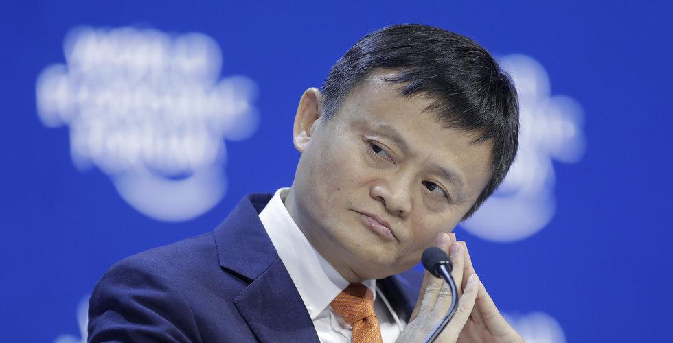 Ant Group överväger alternativ för Jack Ma att lämna