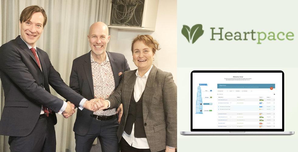 Heartpace ska fixa färre sjukskrivningar – med stålar från Söderberg & partners