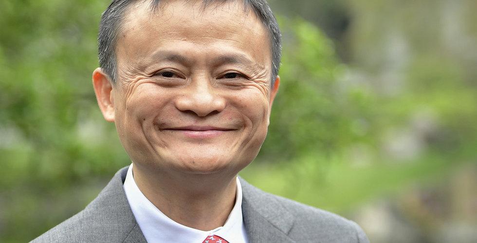 Alibaba slukar matbudtjänsten i miljardaffär
