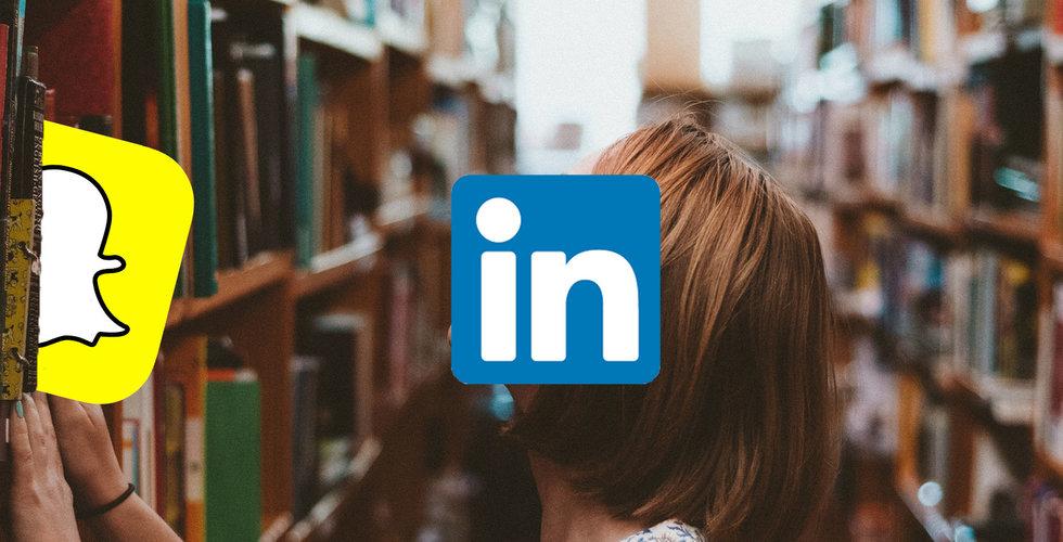 Linkedin gör som Snapchat – lanserar stories-läge