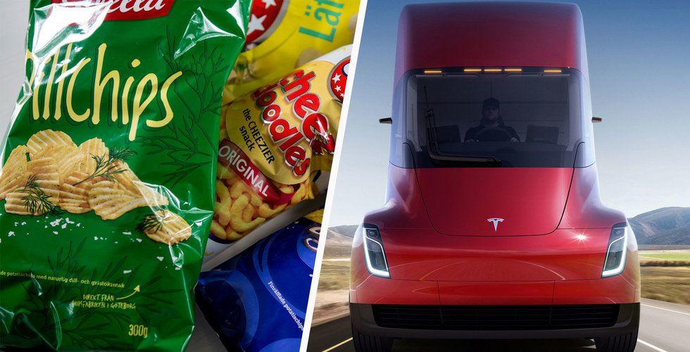 Scania-chefens hån mot Tesla: Duger till att transportera chips
