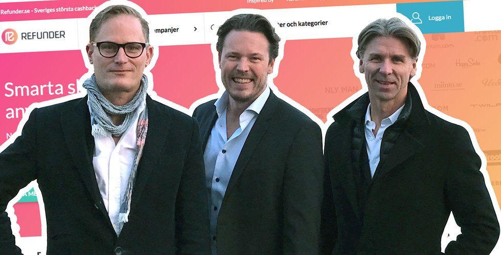 Svenska snabbväxaren Refunder får ny ägare – säljs för 200 miljoner