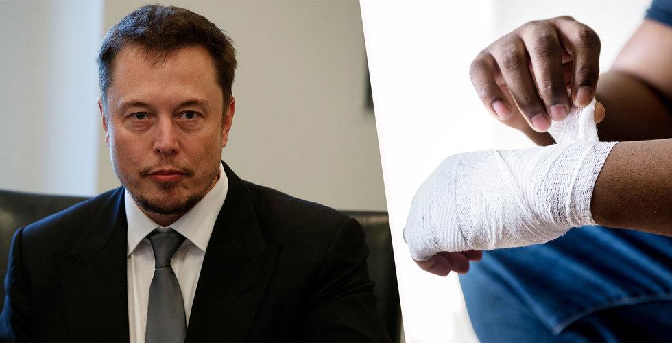 Larmet: Tesla påstås mörka skador på fabriksarbetare