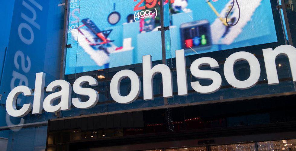 Breakit - Clas Ohlsons försäljning steg 9 procent i mars
