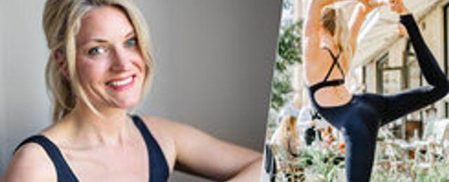 Pebbles Pilates-grundaren vill ta över gymmen med sin jumpsuit