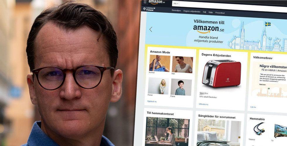 "Nicklas Storåkers: ""Amazon lanserar i Sverige inom 2 veckor"""
