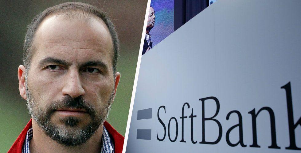 Efter långdragna förhandlingar – nu är affären mellan Softbank och Uber klar