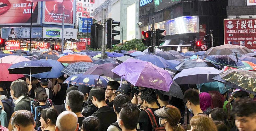 Twiiter och Facebook anklagar Kina för att ljuga om demonstrationerna i Hongkong
