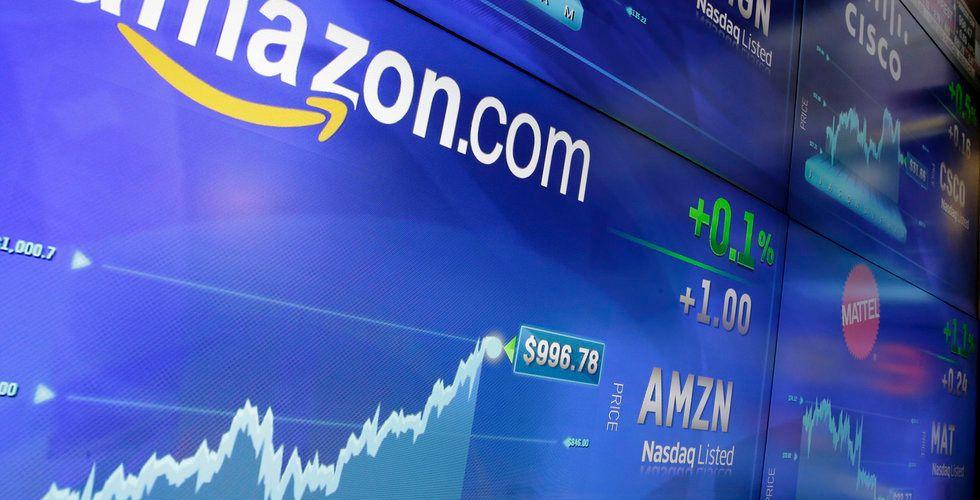 Breakit - Amazons aktie spränger drömgräns
