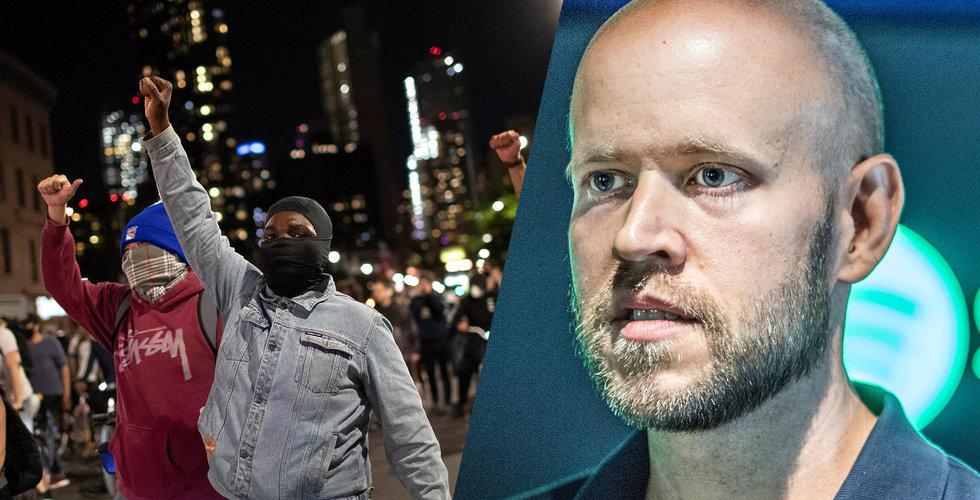 """Daniel Eks utspel om protesterna i USA: """"Kommer inte vara tyst"""""""