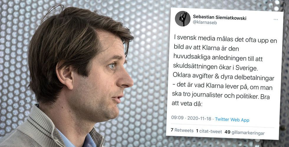 """Sebastian Siemiatkowski svingar mot medierna: """"Lättja, okunskap och klickjakt?"""""""