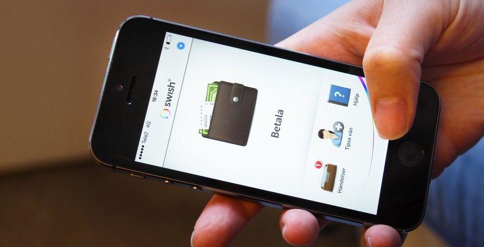 Bankernas app Swish fortsätter att vinna mark – uppe i tre miljoner användare