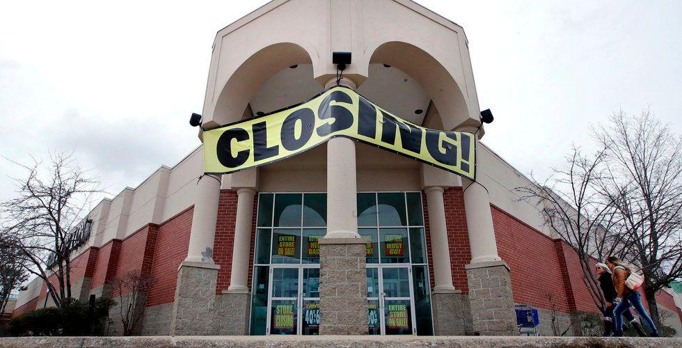 Butiksdöden slår rekord i USA