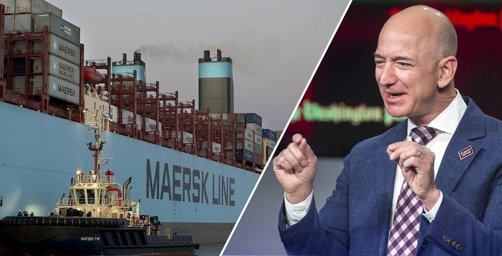 Breakit - Världens största rederi satsar – räds konkurrensen från Amazon och Alibaba