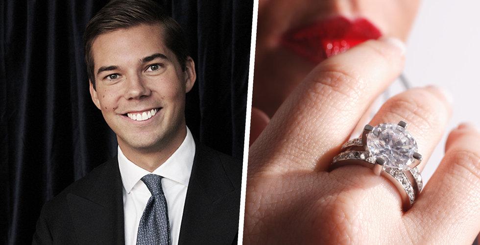 Vanbruun säljer diamanter över nätet – växer med 20 procent