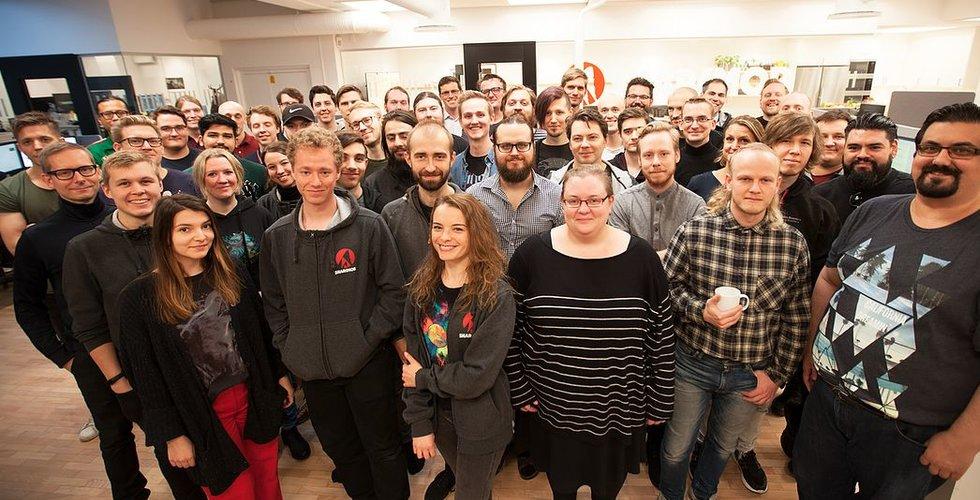 Kinesiska jätten Tencent slukar Malmö-studion Sharkmob
