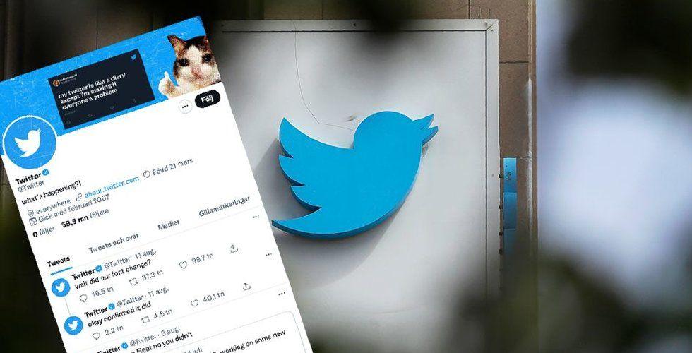 """Twitter börjar med """"superföljare"""" – kan ta betalt för tweets"""