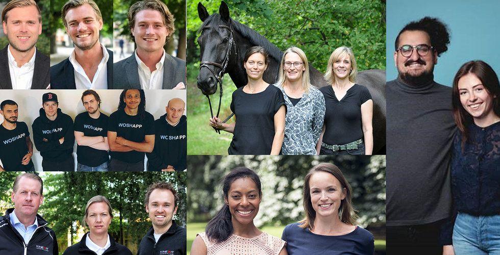Här är de nya startup-stjärnorna som backas av Sting