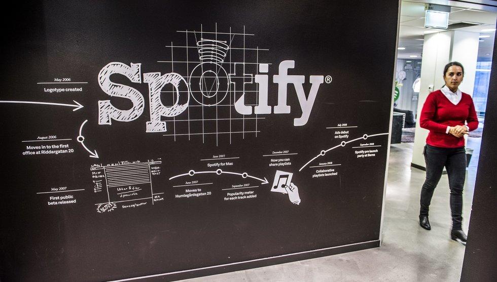 Breakit - Spotify jobbar med ny app för Googles klocka