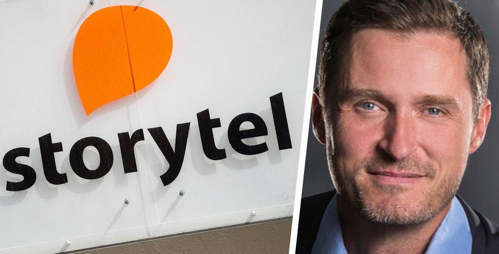 Riskkapitalbolaget Vitruvian köper aktiepost från Storytels storägare