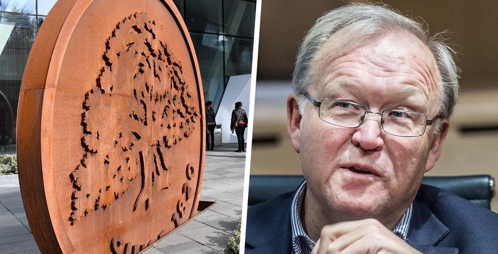 Före detta statsminister Göran Persson kan ta över Swedbank