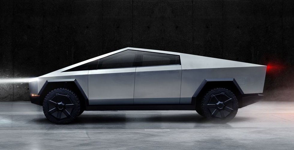 200.000 har redan beställt Teslas nya pickup Cybertruck