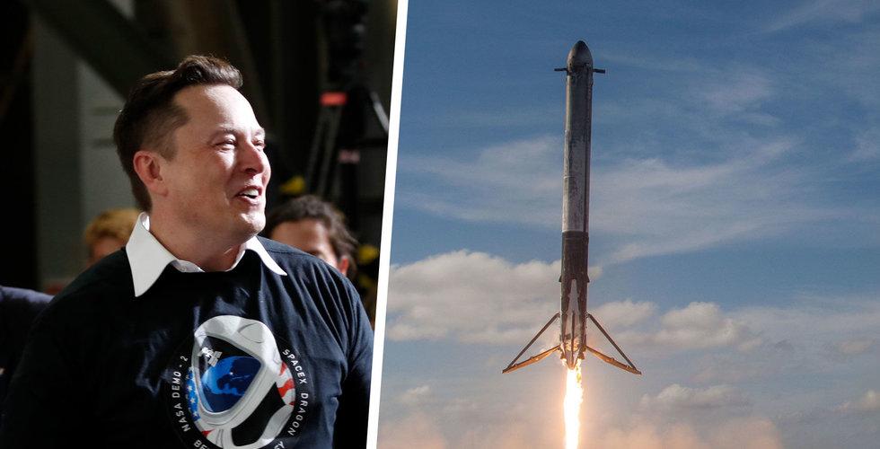 Morgan Stanley: Spacex kommer vara värt minst 100 miljarder dollar