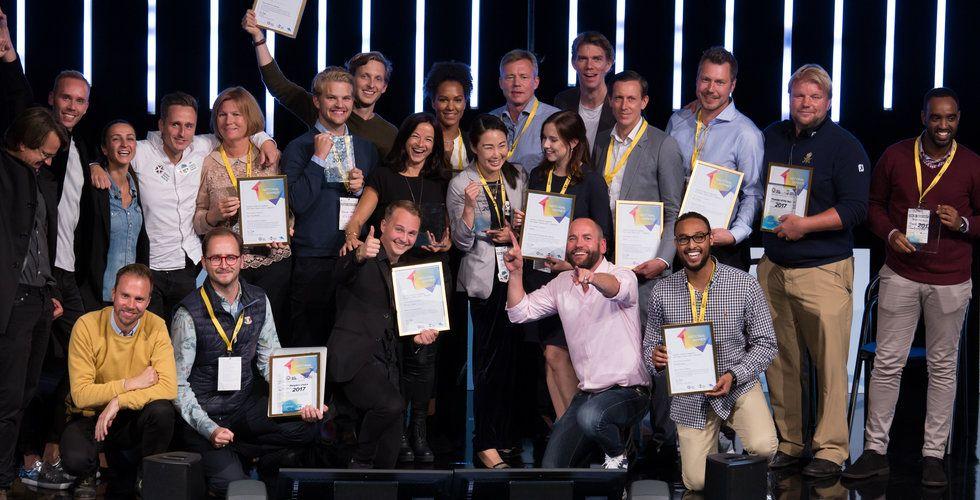 Sveriges hetaste startups prisade – här är alla vinnarna
