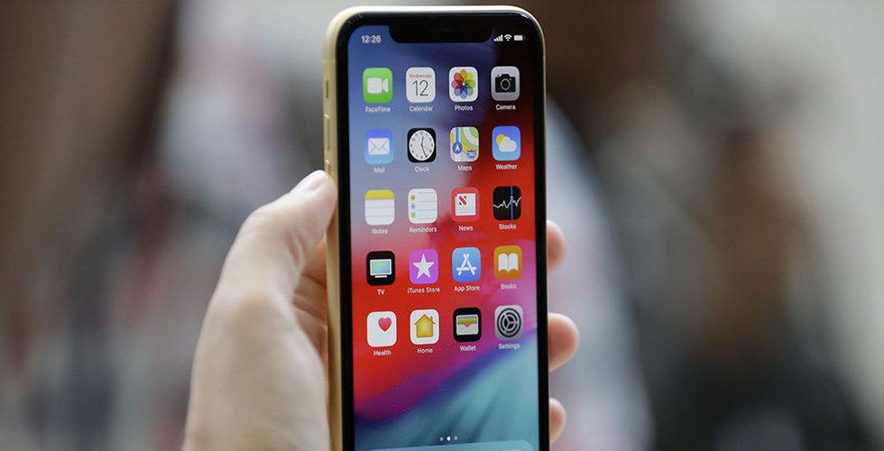 Apple drar ned Iphone-produktionen på nytt