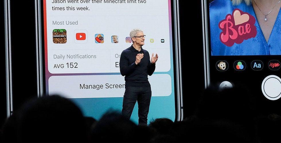 Apple visar nya produkter