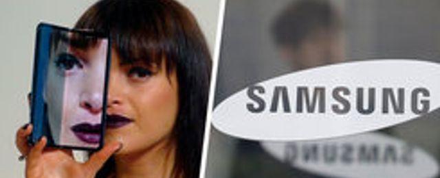 Samsungs vikbara 5G-telefon trasig när den kom fram till recensenterna
