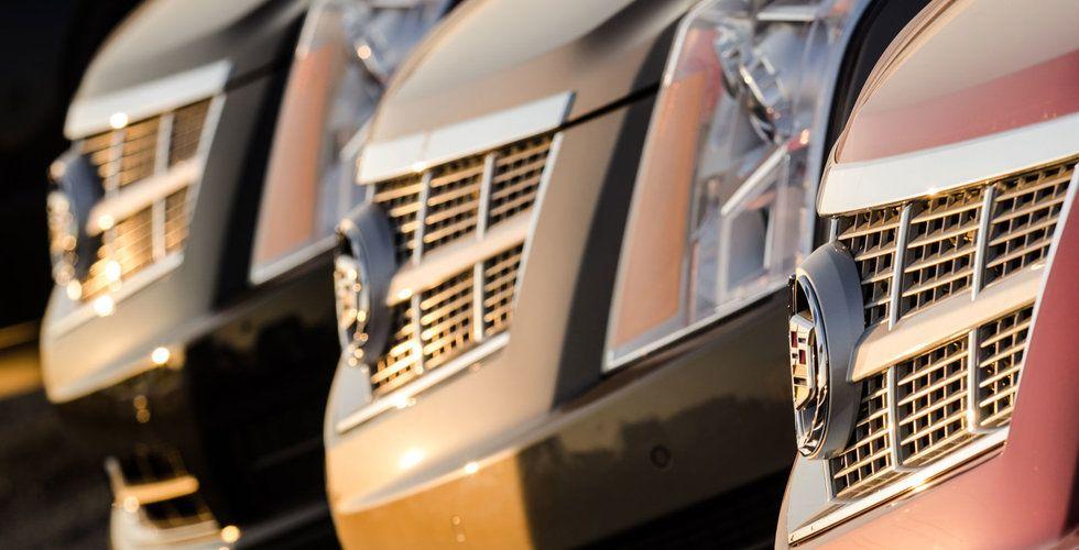 General Motors ska lansera självkörande bil utan ratt nästa år