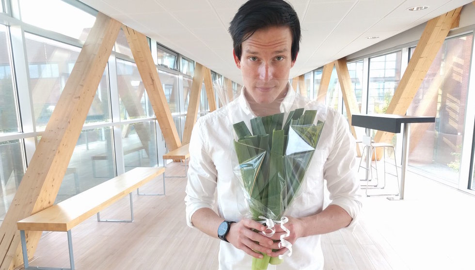 Breakit - Purjogram ska utmana blomsterbuden - med lök i bukett
