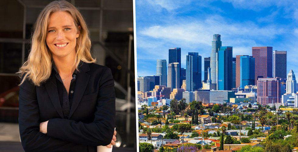 Hon letar svenska startups från Los Angeles – ska investera 100 miljoner i lika många bolag