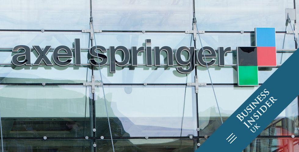 Bekräftat: Mediejätten Axel Springer köper Business Insider