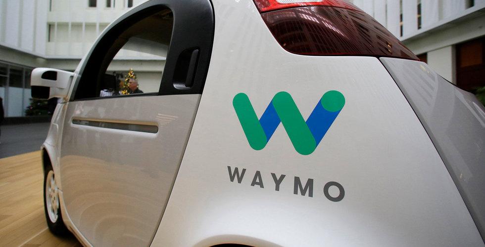 Waymo beställer tusentals Chrysler-bilar för sin självkörande flotta