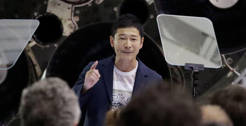 Yusaku Maezawa blir SpaceX första resenär till resa runt månen
