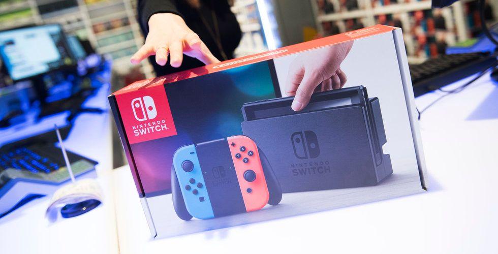 Nintendo Switch den snabbast säljande spelkonsolen någonsin i USA