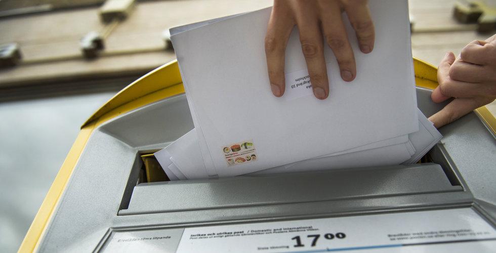 Postnord höjer portot med 1 krona till 12 kronor vid nyår